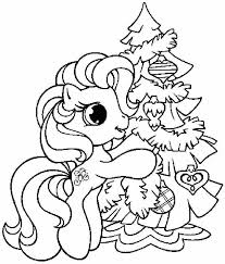 Disney Christmas Tree Coloring Page Only Coloring Pages