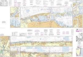 Noaa Chart 11467 Intracoastal Waterway West Palm Beach To Miami