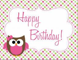 Owl Birthday Applique Design Owl Birthday Party Free Printables