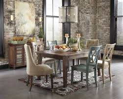 distressed wood dining chairs fresh rustic farmhouse table and chairs modern dining room images rustic