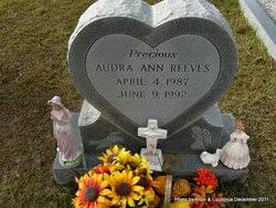 Audra Ann Reeves (1987-1992) - Find A Grave Memorial