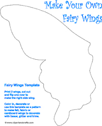 Printable Butterfly Fairy Wings Templates Fairy Fairy Crafts