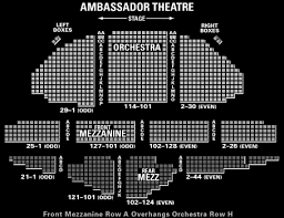 Hayes Theater Seating Chart Broadway Tickets Tickets For Broadway Theater Tickets