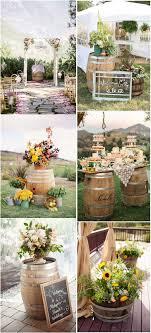 Another 20 Rustic Wine Barrels Wedding Decor Ideas