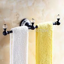 Unique Towel Holders Unique Design Ceramic Style Printing Towel Bar Wall  Mount Brass .