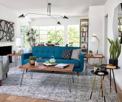 ideas for a mid century modern living room