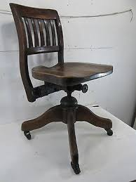 Image Mid Century Vintage Adjustable Wooden Office Chair Antique Chairs For Sale Pinterest Vintage Wood Office Chair Vintage Adjustable Wooden Office