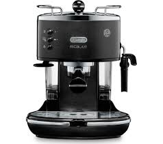 Currys Small Kitchen Appliances Buy Delonghi Icona Micalite Ecom311bk Coffee Machine Black