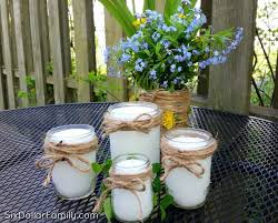 these diy citronella candles are a fantastic natural mosquito repellent