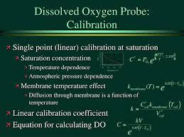 dissolved oxygen probe calibration