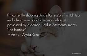 Exorcist Quotes Gorgeous Top 48 Ava's Demon Quotes Sayings