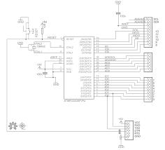 build your own arduino bootload an atmega microcontroller part 1 diy arduino schematic