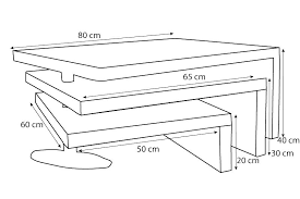 Table basse dimension   Etudiantsavecsarkozy