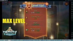 Lords Mobile Game Level 60 Max