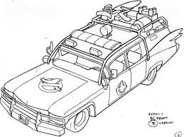 Small Picture Ghostbusters Car Coloring Coloring Coloring Pages