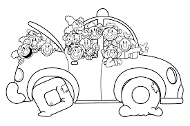 Evil Coloring Pages Kids Coloring Related