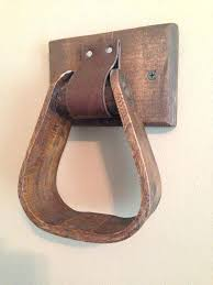 wonderful awesome cool towel ring country horse stirrup western decor bathroom kitchen by the post stir