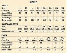 Tingley Overshoes Size Chart Tingley J32007 Pvc Coated Work Jacket