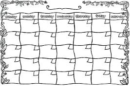 Blank Calendar Sheets Large Template 2018 Jonandtracy Co