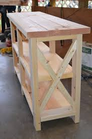 Diy Rustic Sofa Table Sofas Center Anate Rustic X Console Diy Projects Sofa Table
