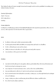 Film Production Resume Template Cool Skill Examples For Resumes Summary Qualifications Examples For