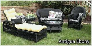 trees and trends furniture. Trees N Trends Ebony Wicker Outdoor Patio Furniture Coupon . And