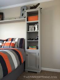 bedroom storage towers. Delighful Towers I Love The Fresh Look Of This Bedroom Storage Unit It Was Built By Two  Make A Home And Modified From Original Plan To Bedroom Storage Towers O