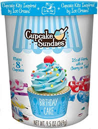 Amazoncom In The Mix Cupcake Sundaes Birthday Cake Cupcake Kit
