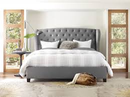 Hooker Furniture Bedroom Nest Theory Heron Tufted 62in King