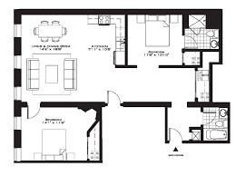 Modern 2 Bedroom Apartment Floor Plans Impressive Luxury One Bedroom Apartment Floor Plans Modern 1