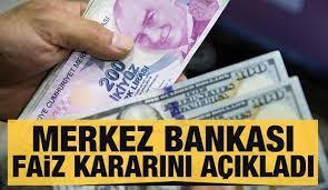 Son dakika haberi: Merkez Bankası faiz kararını açıkladı - Ekonomi Haberleri