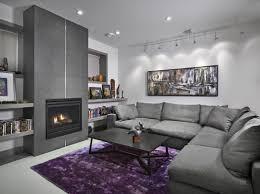 Living Room Grey Purple Wall Paint Grey Themed Living Room Ideas