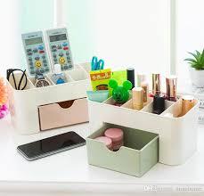 DIY Home Storage Box Case - Desk Organizer Office Desk Storage Organizador  - Jewelry Cosmetic Makeup Brush Lipstick Boxes DIY Home Storage Box Case  Desk ...