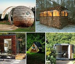 small outdoor office. Well Working In One Of These Weird Yet Slightly Cool Outdoor Backyard Offices Course They Range From Small Pods And Blobs To A Office