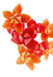 Paper Folded Flower Orchid Arrangement Extract From Paper Folded Flowers By