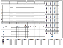 Cricket Score Card Format 5 Cricket Score Sheets Excel Word Excel Templates