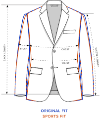 Sport Coat Size Chart Size Guide Fit Guide Rodd Gunn
