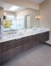 undermount bathroom sinks. view in gallery contemporary bathroom featuring a suspended vanity with two undermount sinks