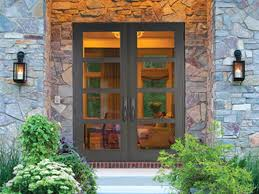 impact wood front door