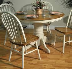 country single pedestal table