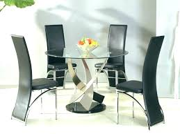 round glass table set dining room sets full size of top replacement outdoor furniture round glass table