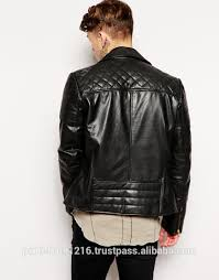 Men Leather Jacket / Genuine Leather Jacket / Sheepskin Leather ... & Men Leather Jacket / Genuine Leather Jacket / Sheepskin Leather Jacket  Quilted Biker Adamdwight.com