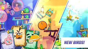 Angry Birds 2 Mod APP Unlimited Gems Free Download | Birds, Frenemies, Angry  birds
