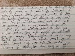 From Joy To Anguish The Handwritten Letters From Jeff Kleinsaucer