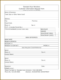 Employee Information Form Sheet Template For Interview Forms