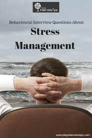 1000 images about interview tips questions answers on behavioral interview questions about stress management