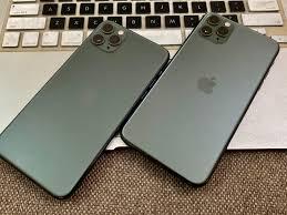 iphone 11 pro max 256gb , màu xanh - 27.700.000đ