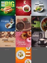 Poster Design Instagram 50 Food Instagram Banners Food Graphic Design Food Poster