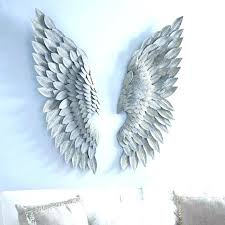 angel wings wall decor art feather hobby lobby medium size of black and white angels aw