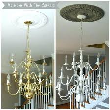 beautiful milk glass chandelier and chandelier makeover before and after chandelier makeover milk glass chandelier makeover